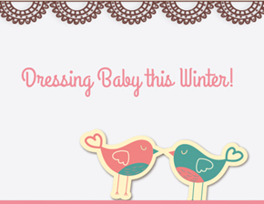 DRESSING BABY IN THE WINTER TIME: WOLF WOLF