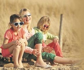 Summer is in full swing and that means more time outside in the summer sun for you and your little one!