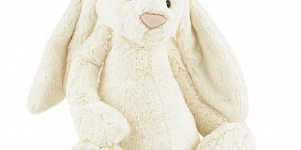 Jelly Cat – Cream Bashful Bunny