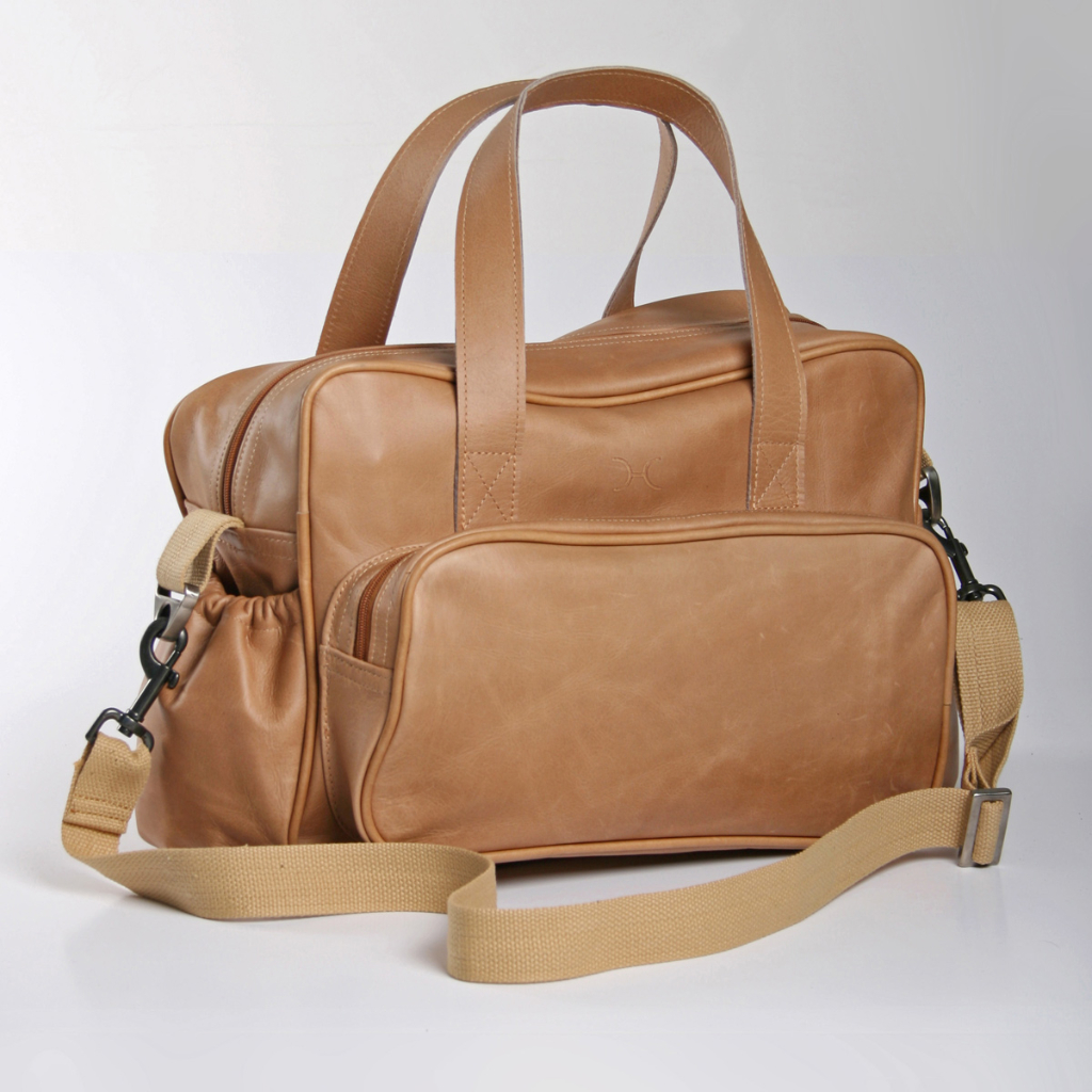 3c0adafaaa Thandana Leather Nappy Bag - Kids Emporium