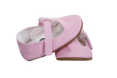 Myang - Shoes - T-Bar - Pink Pindot 3