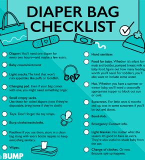 Diaper Bag Checklist: What To Pack In A Diaper Bag