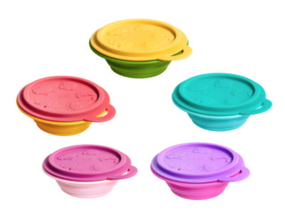 Silicone Collapsible Baby Bowl 1