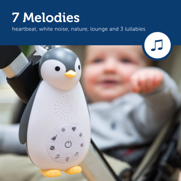 Zazu Zoe The Penguin Sound Machine Amp Nightlight Kids