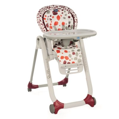 Chicco - Polly Progres5 Highchair Cherry