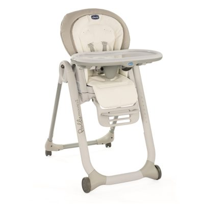 Chicco - Polly Progres5 Highchair White