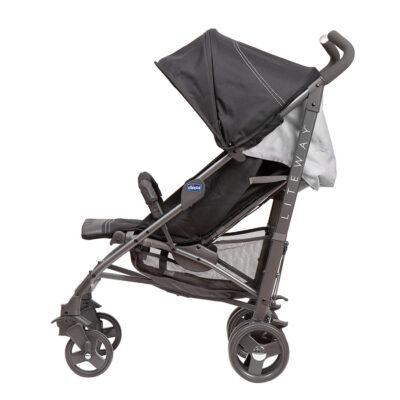 Chicco - Lite Way 3 Basic Stroller with Bumper Bar – Black BABYCH00114-2