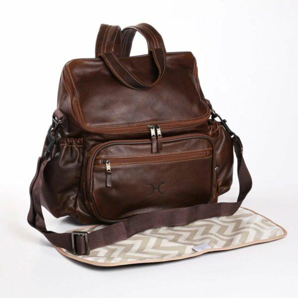 Thandana - Nappy Backpack Leather Tobacco