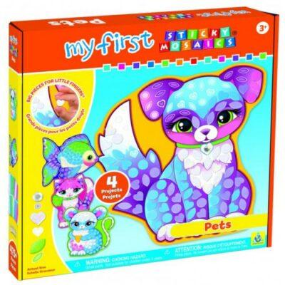 My First Sticky Mosaics - Pets