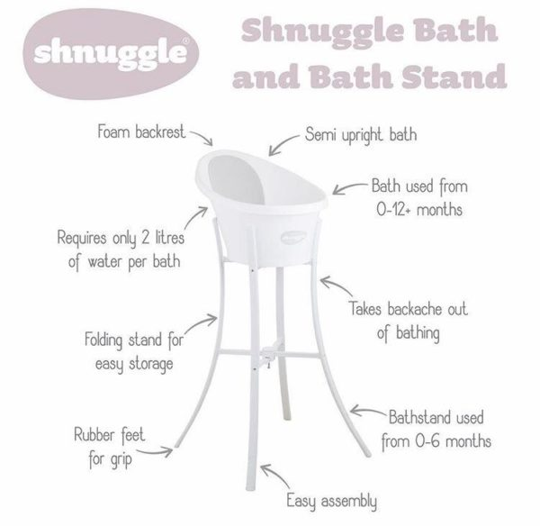 Shnuggle - Bath and Stand 1