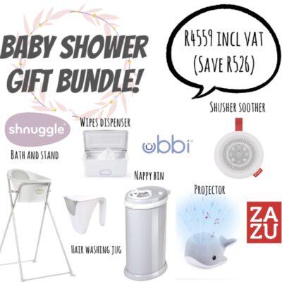 Step South - Baby Shower Gift Bundle - Ubbi, Zazu, Shnuggle