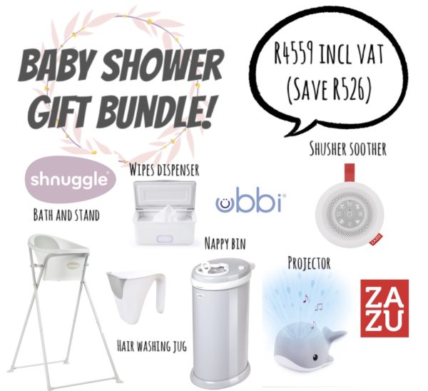 Step South - Baby Shower Gift Bundle - Ubbi, Zazu, Shnuggle