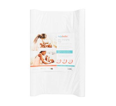 Tula Baby After Bath Mattress Toweling White 2