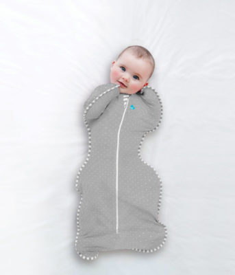Grey Dots - Swaddle UP Lite Stage 1 - 0.2 Tog
