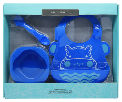 Marcus & Marcus - Silicone Baby & Toddler Feeding Sets Lucas 2