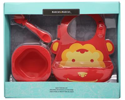 Marcus & Marcus - Silicone Baby & Toddler Feeding Sets Marcus 2