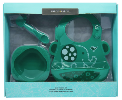 Marcus & Marcus - Silicone Baby & Toddler Feeding Sets Ollie 2