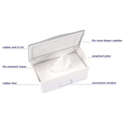 Ubbi - Wipe Dispenser - Grey 4