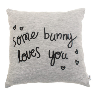 Xoxo - Scatter Cushion - Bunny Grey 1