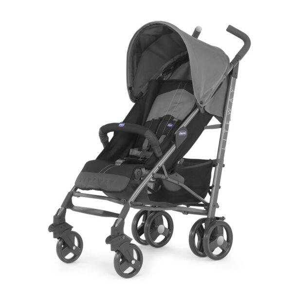 Chicco - Lite Way 3 Basic Stroller with Bumper Bar – Titanium BABYCH00113-1