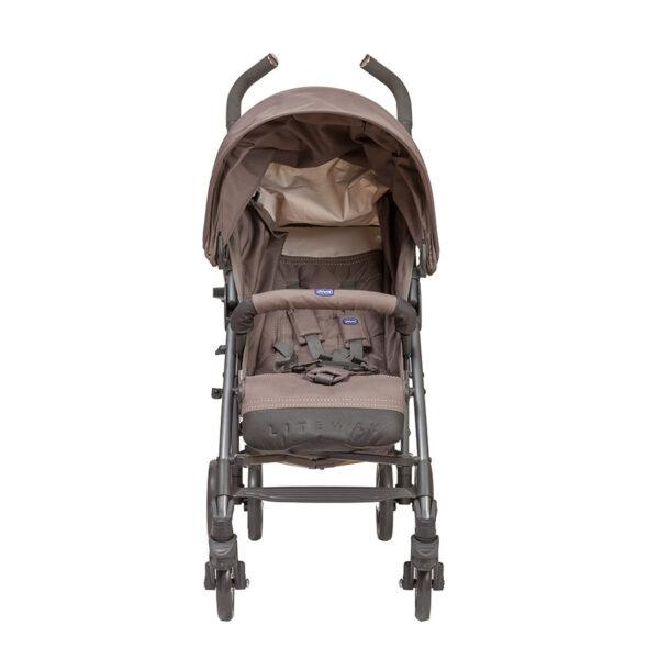 Chicco - Lite Way 3 Basic Stroller with Bumper Bar – Dark Beige BABYCH00115-3