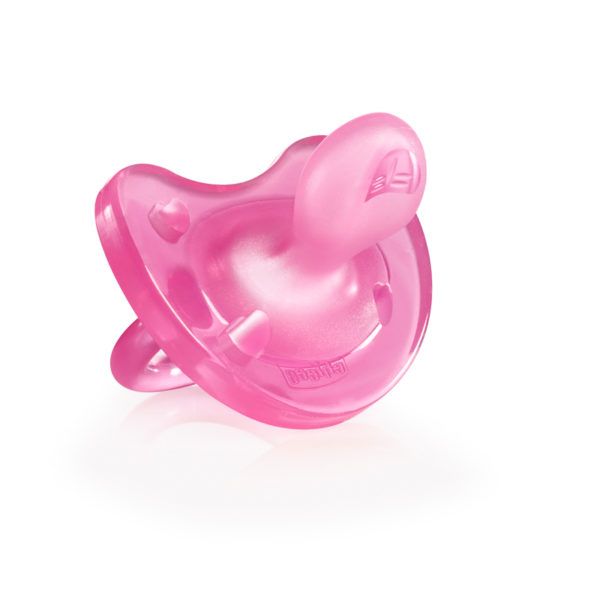 Chicco - Soother Physio Soft 0-6m 1PC – Pink BABYCH02028-1