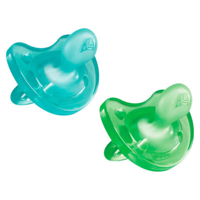 Chicco - Soother Physio 12m+ 2pcs – Boy BABYCH02035-2