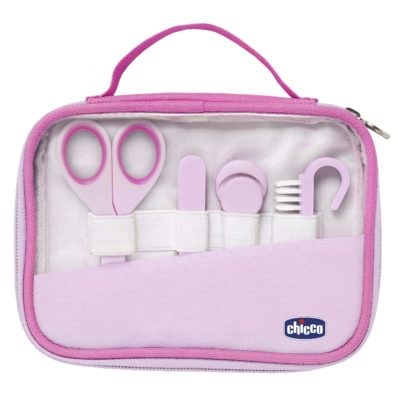 Chicco - Nail Care Set - Pink BABYCH02429