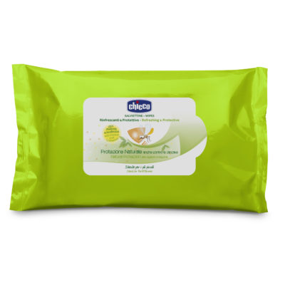 Chicco - Anti-Mosquito Wipes Cosmetic - Set Of 20 BABYCH02503