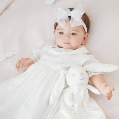 Sugardots - Elegant Baby Christening Gown 2