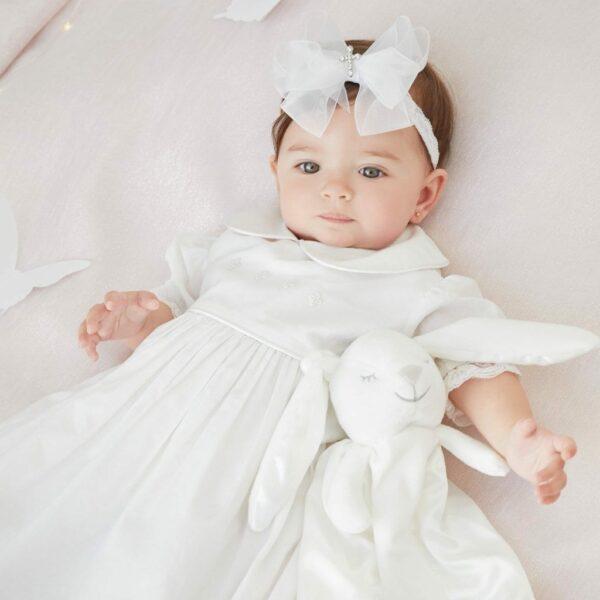 Sugardots - Elegant Baby Christening Gown 2