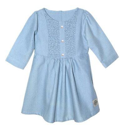 Myang - Dress (Girls) - Denim Chambray 1 - M0363