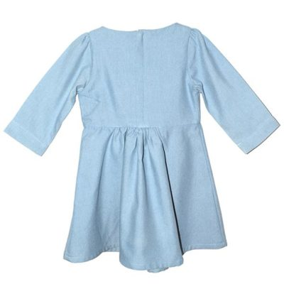 Myang - Dress (Girls) - Denim Chambray 2 - M0363