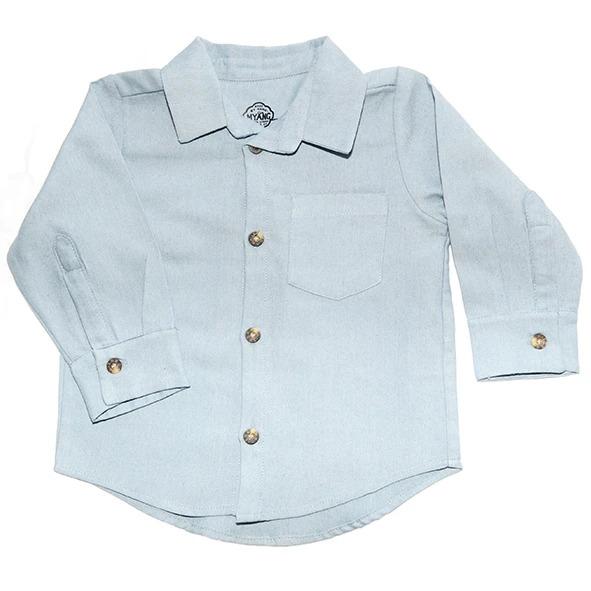 Myang - Shirt (Boys) - Long Sleeve Denim Chambray 1 - M0364