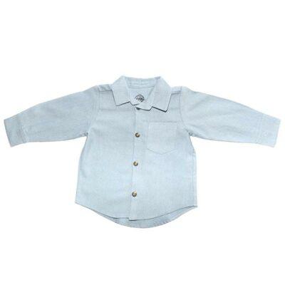 Myang - Shirt (Boys) - Long Sleeve Denim Chambray 2 - M0364