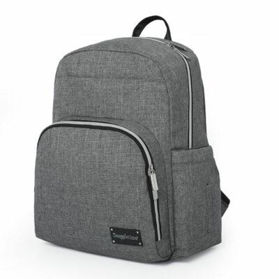 Snuggletime Nappy Bag Backpack - London Grey 2