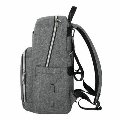 Snuggletime Nappy Bag Backpack - London Grey 3