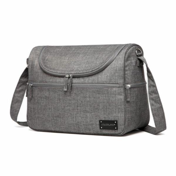 Snuggletime Nappy Bag - Classic Grey 3