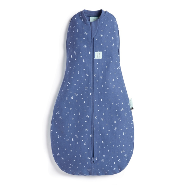 Star Sweepers - Ergo Pouch - Cocoon Swaddle - Night Sky 1