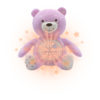 BABYCH01008 Chicco First Dreams Baby Bear – Girl 1