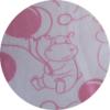 Babygrow Romper Pink Hippo 3