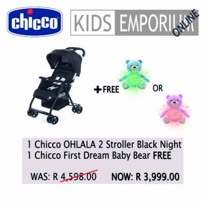 Chicco OHLALA 2 - Black Night Promo