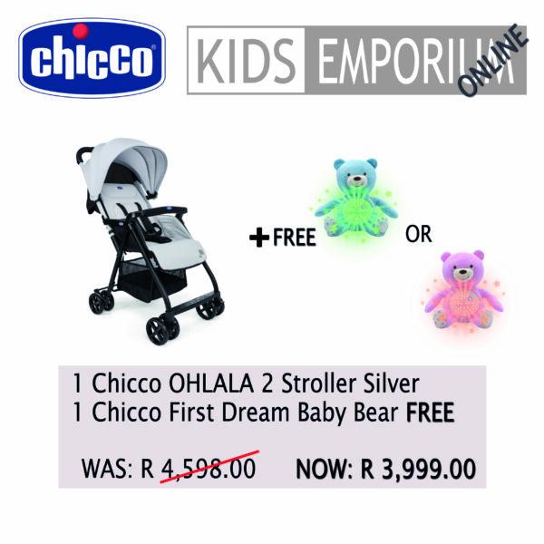 Chicco OHLALA 2 - Silver Promo