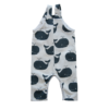 Dungaree & T-shirt Set, Steel Whales 2 Piece 2