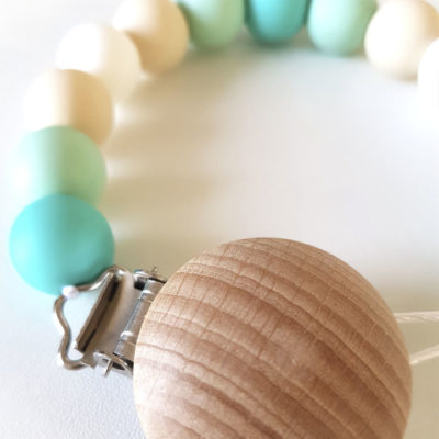 StorkBrands - Ruby Melon Toy Dummy Clip Aqua 2