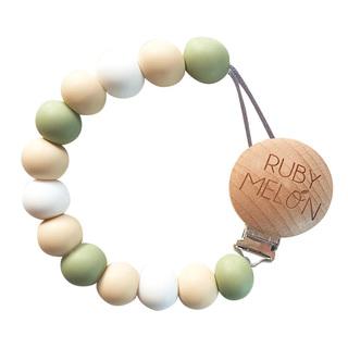 StorkBrands - Ruby Melon Toy Dummy Clip Olive 1