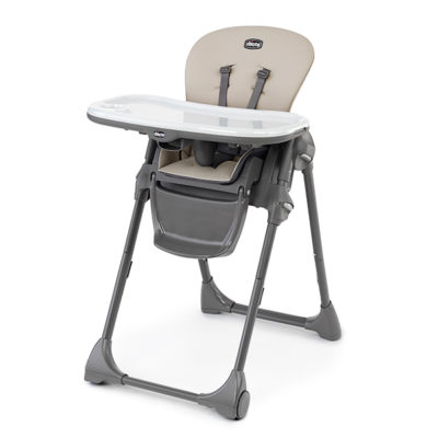 Chicco - Polly Highchair – Taupe BABYCH00231