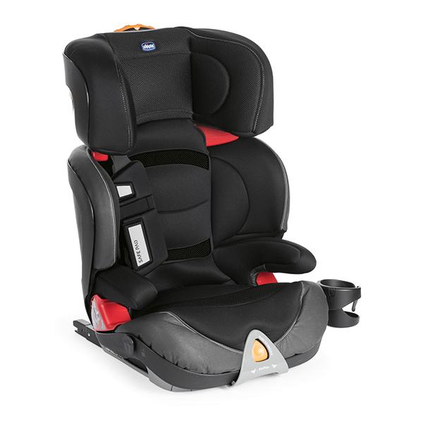 Chicco - Oasys 2-3 Fixplus Evo Car Seat – Jet Black BABYCH00341-1