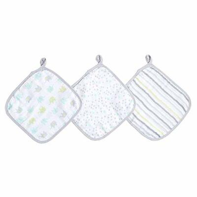 Ideal Baby - Muslin Washcloths 3 Pack - Dreamy IB662