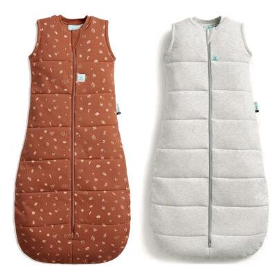 Ergo Pouch - Jersey Sleeping Bag - Acorn Grey 1